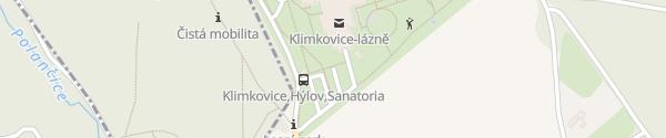 Karte Sanatoria Klimkovice Klimkovice