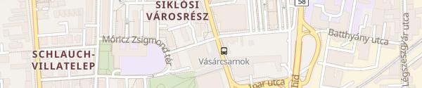 Karte Fordan Hotel Pécs