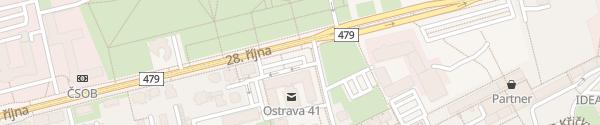 Karte Úřad Moravskoslezského kraje Ostrava-Moravská
