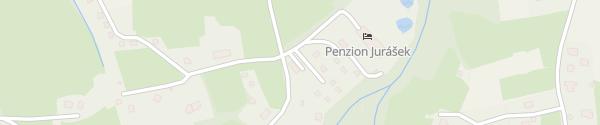 Karte Penzion Jurášek Kunčice pod Ondřejníkem