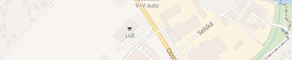 Karte Lidl Sviadnov