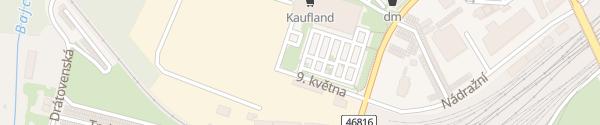 Karte Kaufland Bohumín