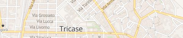 Karte Piazza dei Cappuccini Tricase