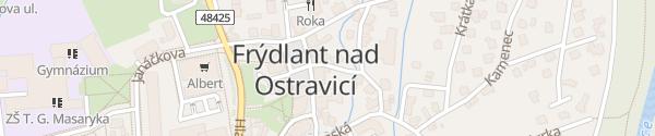 Karte Mateřská škola Frýdlant nad Ostravicí