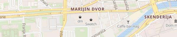 Karte Sarajevo City Center Sarajevo