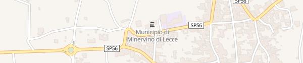 Karte Enel Drive Säule Minervino di Lecce