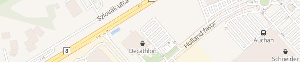 Karte Decathlon Székesfehérvár