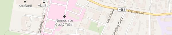 Karte Divadlo Český Těšín