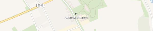 Karte Apponyi Kiskastély Medina