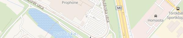 Karte Supercharger Auchan Törökbálint