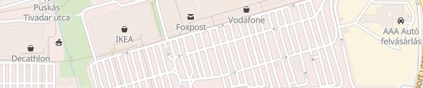 Karte innogy Ladesäule Budaörs