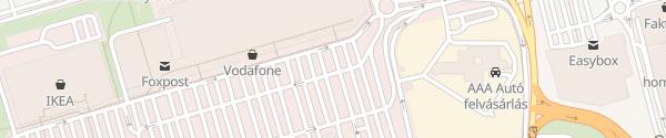 Karte Auchan Budaörs