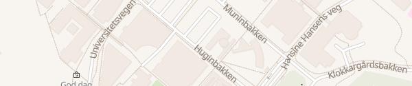 Karte Universität Tromsø