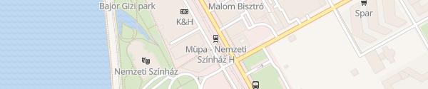 Karte Müpa-Nemzeti Színház Budapest