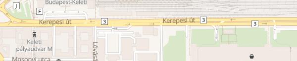 Karte MOL Tankstelle Budapest