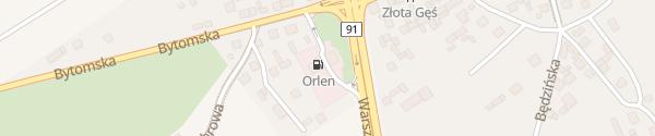 Karte Orlen Tankstelle Siewierz
