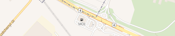 Karte MOl Tankstelle Vecsés