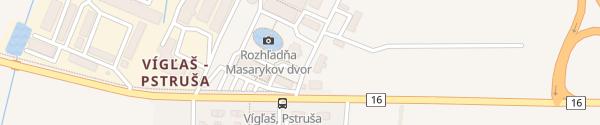 Karte Masarykov Dvor Vígľaš