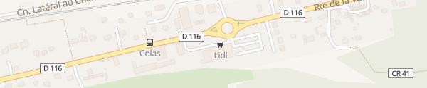 Karte Lidl Roinville