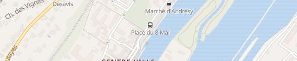 Karte Boulevard Noël Marc Andrésy