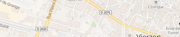 Karte Ecar18 Parking Gaucherie Vierzon