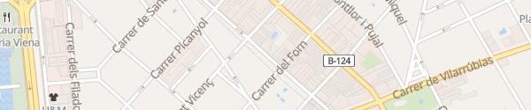 Karte Mahindra Reva Sabadell