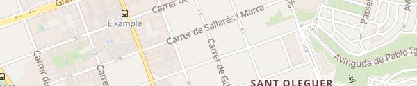 Karte EV Box in Sabadell Sabadell