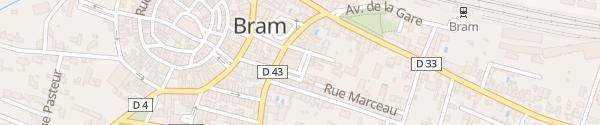 Karte Parking Impasse André Chénier Bram