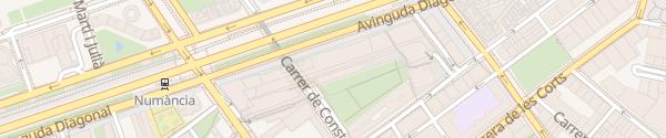 Karte L'illa Diagonal Barcelona