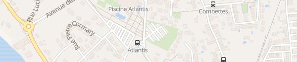 Karte Parking Chemin de Las Bories Albi