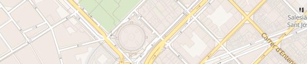 Karte Centro Comercial Arenas de Barcelona Barcelona