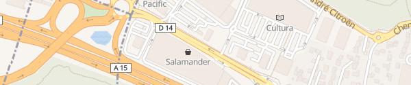 Karte Leclerc Franconville