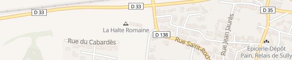 Karte Rue du Vinarium Villesèquelande