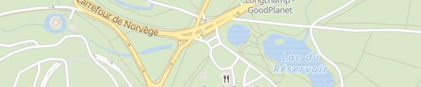Karte Restaurant La Grande Cascade Paris