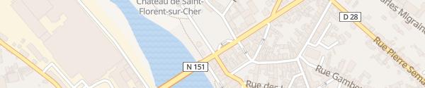 Karte Place De La République Saint-Florent-sur-Cher