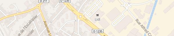 Karte Lidl Amiens