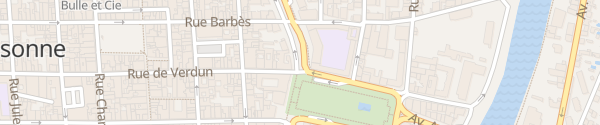 Karte Boulevard Jean Jaurès Carcassonne