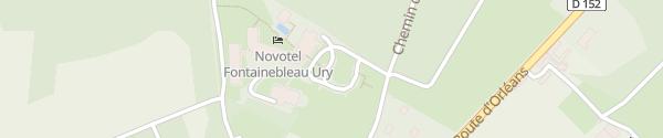 Karte Supercharger Novotel Ury