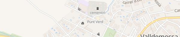 Karte Ajuntament de Valldemossa Valldemossa