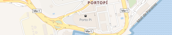 Karte Centro Comercial Porto Pi Palma de Mallorca