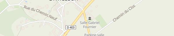 Karte Mairie Ormesson