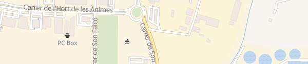 Karte Endesa Schnellladesäule Palma