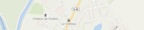 Karte Route de Moret Montcourt-Fromonville