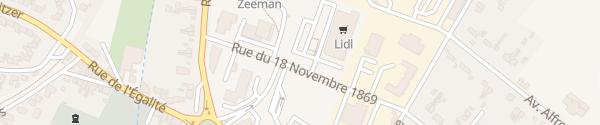 Karte Lidl Bully-les-Mines