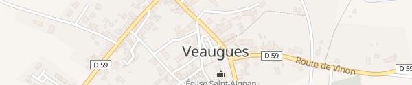 Karte Grande Rue Veaugues
