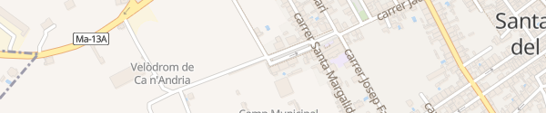 Karte Sportplatz Santa Maria del Camí