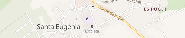 Karte Carrer de Ses Escoles Santa Eugènia