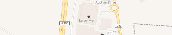 Karte Auchan Meaux Chauconin-Neufmontiers