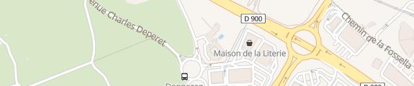 Karte Villa Duflot Perpignan