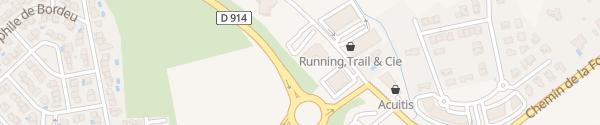 Karte Hôtel La Fauceille Perpignan